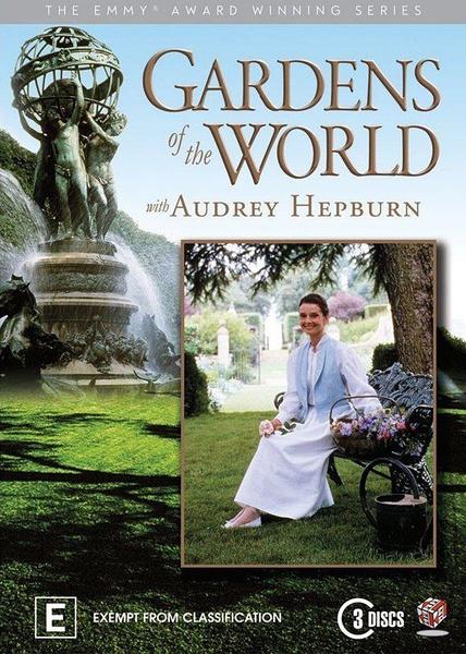 "O último programa que Audrey apresentou, ""Gardens of the World""."