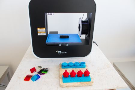 Impressora 3D.