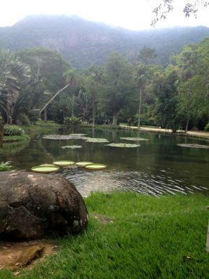 Os seis lagos do Jardim são visita obrigatória.