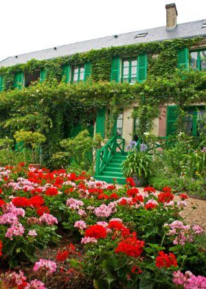 A casa de Monet.