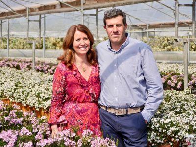 Teresa Chambel e Paolo Batoni, Diretor da Flora Toscana