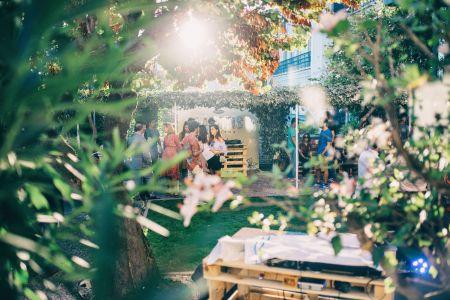 Festa privada de inauguração do evento no Chiado.
