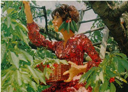 Audrey em La Paisible. Foto: Vogue