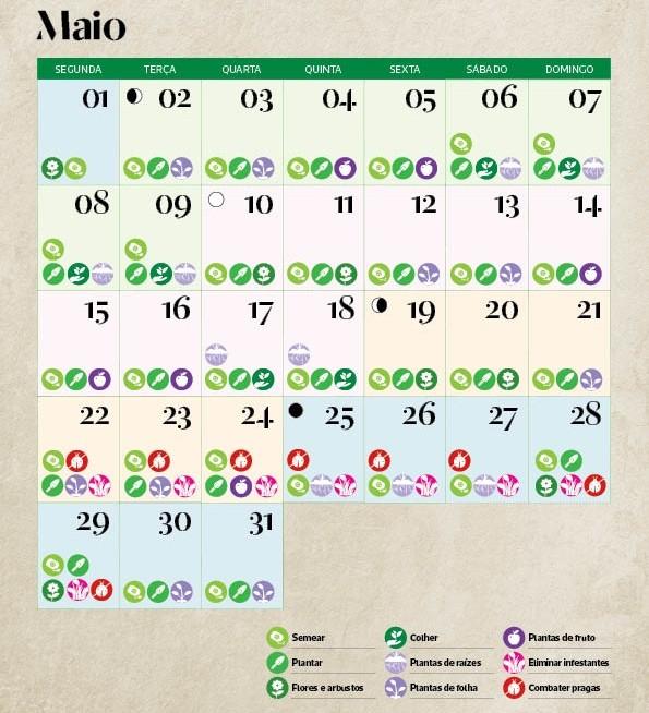 calendrio lunar de maio