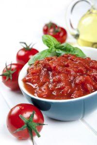 molho de tomate